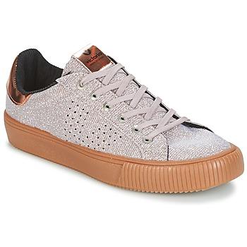 Chaussures Femme Baskets basses Victoria DEPORTIVO LUREX Gris