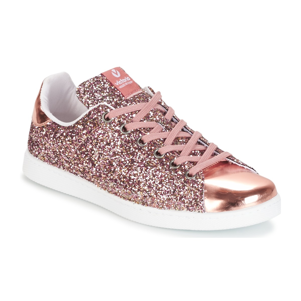 Victoria Basket Basses  Glitter Rosa rose - Chaussures Baskets basses Homme