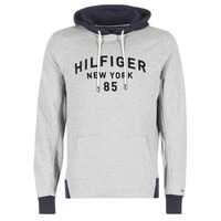 Vêtements Homme Sweats Tommy Hilfiger ALAN HDD 1/2 ZIP L/S VF Gris / Marine