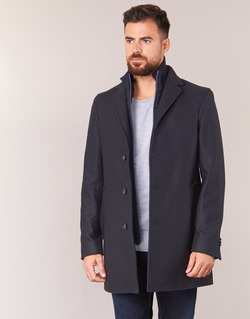Vêtements Homme Manteaux Tommy Hilfiger CHASE TWILL COAT Marine
