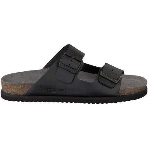 5d51a6367072 Chaussures Homme Sandales et Nu-pieds Mephisto Sandales NERIO Noir