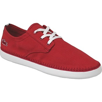 Chaussures Homme Baskets basses Lacoste Lydro Deck Rouge