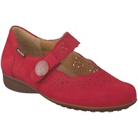 Chaussures Femme Baskets basses Mephisto Ballerines FABIENNE Rouge