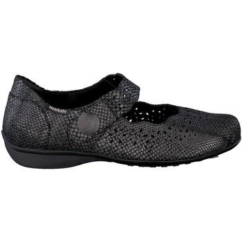 Chaussures Femme Baskets basses Mephisto Ballerine cuir FABIENNE Noir