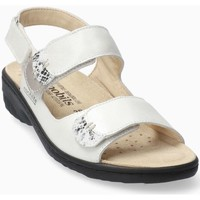 Chaussures Femme Sandales et Nu-pieds Mephisto Sandale nubuck GETHA Blanc