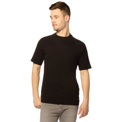 Vêtements Femme T-shirts manches courtes Jack & Jones T-shirt HOMME - TOMAS _BLACK/TALL AND S Noir