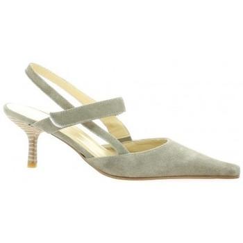 Chaussures Femme Escarpins Elizabeth Stuart Escarpins cuir velours Taupe