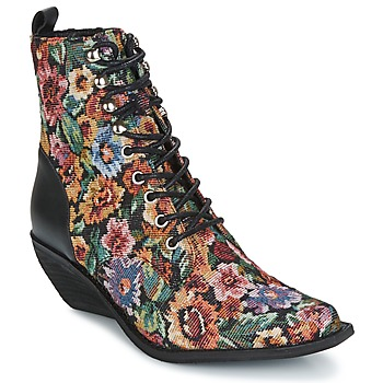 Chaussures Femme Bottines Jeffrey Campbell ELMCROFT TAPESTRY Multicolor