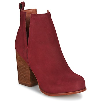 Chaussures Femme Bottines Jeffrey Campbell Oshea nubuck Bordeaux