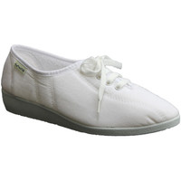 Chaussures Femme Chaussons Muro  Lacets de chaussures Wedge  en bla blanco