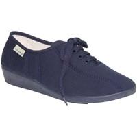 Chaussures Femme Baskets basses Muro  Lacets de chaussures Wedge  en ble azul