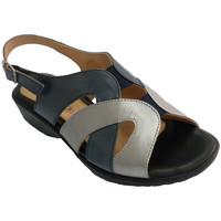 Chaussures Femme Sandales et Nu-pieds Doctor Cutillas Femme sandale-Tone et métal très confort azul