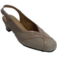 Chaussures Femme Escarpins Trebede Chaussures habillées slingback femme Tre beige
