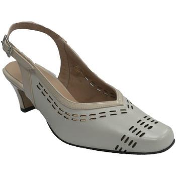 Chaussures Femme Escarpins Trebede Les femmes de chaussures de robe dos ouv beige