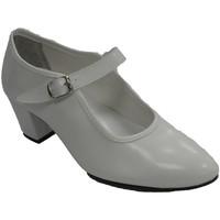 Chaussures Femme Ballerines / babies Danka Fille ou femme de chaussures de danse fl blanco