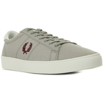 Chaussures Homme Baskets basses Fred Perry Spencer Canvas gris