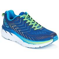 Chaussures Homme Running / trail Hoka one one CLIFTON 4 Bleu / Vert