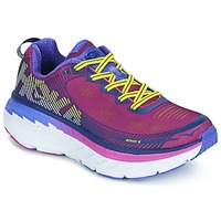 Chaussures Femme Running / trail Hoka one one BONDI 5 Vert / Jaune