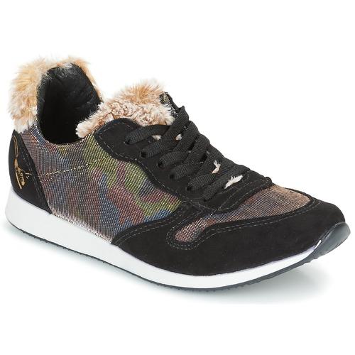 Ippon Vintage RUN SNOW Noir / Cuivre  - Chaussures Baskets basses Femme