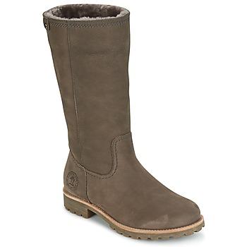 Chaussures Femme Bottes ville Panama Jack BAMBINA Gris