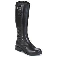 Chaussures Femme Bottes ville Samoa 53245-NERO Noir