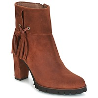 Chaussures Femme Bottines Wonders CHANIEL Marron
