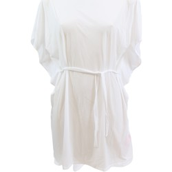 Vêtements Femme Robes Lolita Angel Robe de plage  Satiné Blanc BLANC