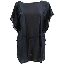Vêtements Femme Robes Lolita Angel Robe de plage  Satiné Noir NOIR