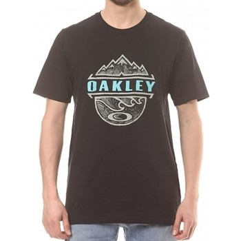 Vêtements Homme T-shirts & Polos Oakley T-shirt  Bicoastal Too Blackout Noir
