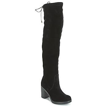 Chaussures Femme Cuissardes Tosca Blu ST MORITZ Noir