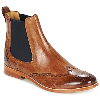 Chaussures Femme Boots Melvin & Hamilton AMELIE 5 Marron/Navy