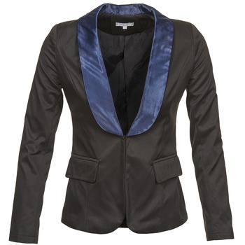 Vêtements Femme Vestes / Blazers Betty London BERTHILLE Noir / Marine