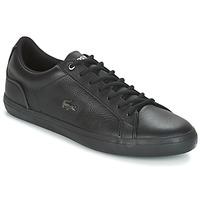 Chaussures Homme Baskets basses Lacoste LEROND 4 Noir / Blanc