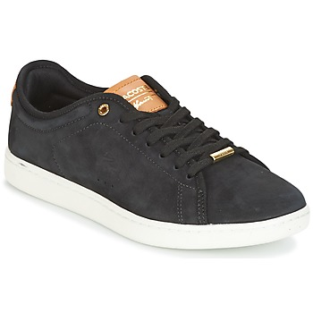 Chaussures Femme Baskets basses Lacoste CARNABY EVO 8 Noir / Blanc