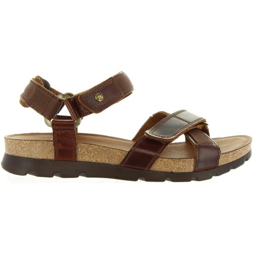 Chaussures Homme Sandales et Nu-pieds Panama Jack SAMBO CLAY C1 Marrón