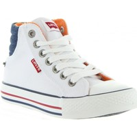 Chaussures Enfant Baskets mode Levi's VNEW0001T NEW YORK Blanco