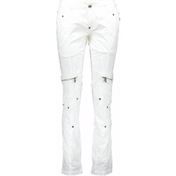 Vêtements Femme Chinos / Carrots John Galliano 34 XR7105 82046 1X08 BLANC 003