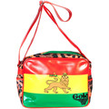 Gola CUB827 REDFORD ETHIOPIA Bandoulière  Femme rouge RED/GREEN/YELL
