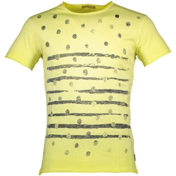 Vêtements Homme T-shirts manches courtes Yes Zee T743/TB00 T-SHIRT MANICHE CORTE Homme GIALLO 0322 GIALLO 0322