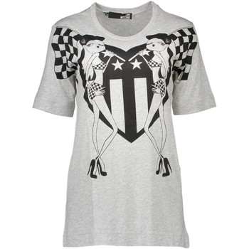 Vêtements Homme T-shirts manches courtes Love Moschino W 4 F15 03 M 3519 GRIS B266
