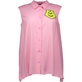 Vêtements Femme Chemises manches courtes Love Moschino W C B29 80 S 2655 Chemise sans manches  Femme rose N35 rose N35