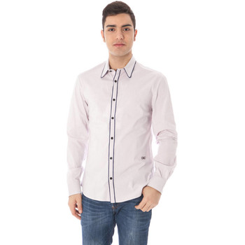 Vêtements Homme Chemises manches longues Costume National 09 TN2621 48189 rose R700