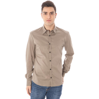 Vêtements Homme Chemises manches longues Costume National 09 VN2697 49662 CAMICIA MANICHE LUNGHE Homme vert 807 vert 807