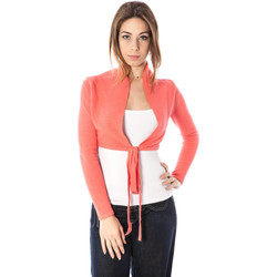 Vêtements Femme Gilets / Cardigans Kontatto 2481 CORALLO rose RSS30