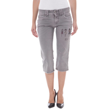 Vêtements Femme Pantacourts John Galliano 34 XR7031 68605 1XLU GRIS 810