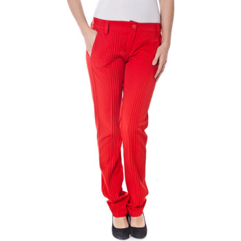 Vêtements Femme Chinos / Carrots Denny Rose 6065 rouge
