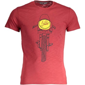 Vêtements Homme T-shirts manches courtes Yes Zee T742/Z301 T-SHIRT MANICHE CORTE Homme ROSSO 0571 ROSSO 0571