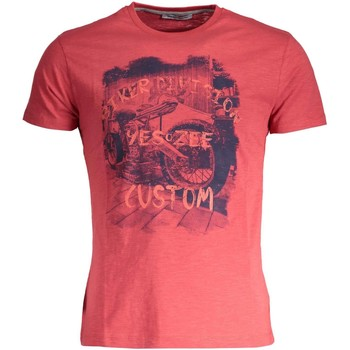 Vêtements Homme T-shirts manches courtes Yes Zee T742/Z302 T-SHIRT MANICHE CORTE Homme ROSSO 0571 ROSSO 0571