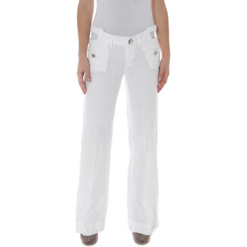 Vêtements Femme Chinos / Carrots Phard P1709251521500 BASIL/A blanc 1100