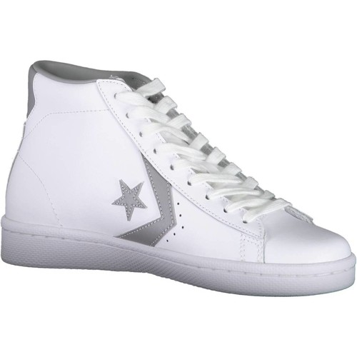 Chaussures Femme Baskets montantes Converse 157718C BIANCO WHITE/DOLPHIN/WHITE